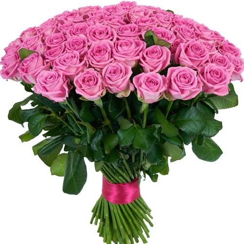 Купить на заказ Заказать Букет из 101 розовой розы с доставкой по Караганде с доставкой в Караганде