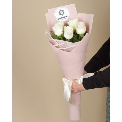 Купить на заказ Заказать Букет из 5 роз с доставкой по Караганде с доставкой в Караганде